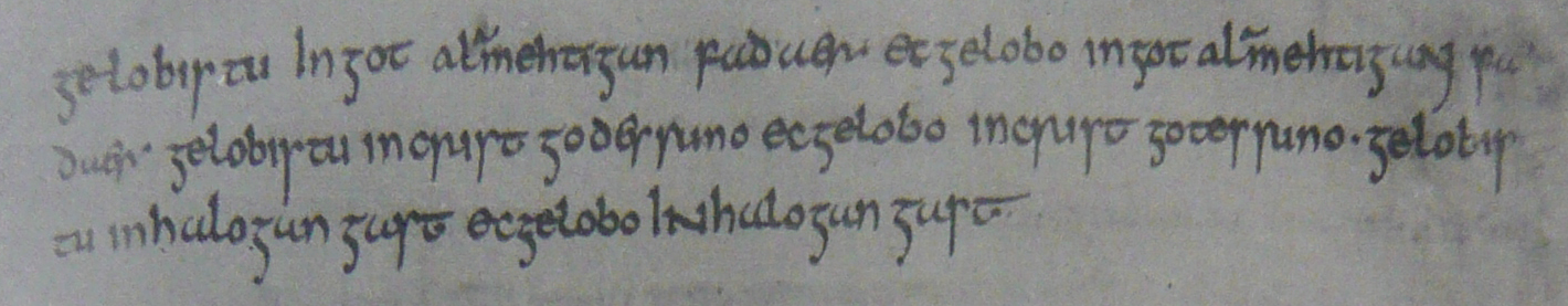 gelobistu in got alamehtigan fadaer - de oudste Nederlandstalige zin