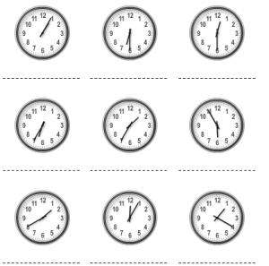 Oefen het klokkijken online