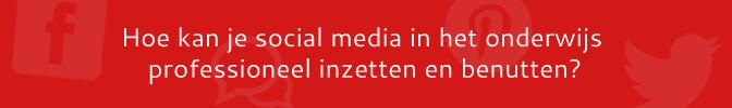Social media & services in het onderwijs