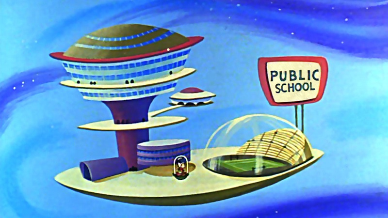 School in de tekenfilmserie The Jetsons