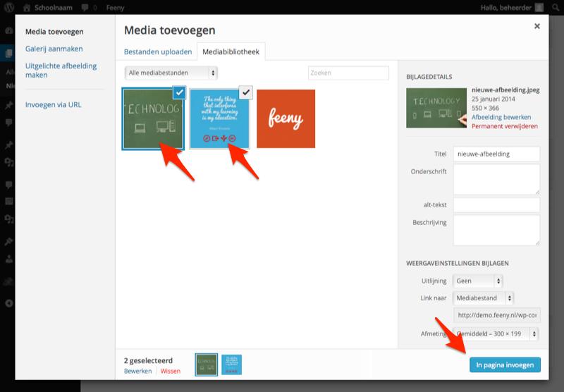 Media-toevoegen-selecteer-afbeelding-meerdere-afbeeldingen
