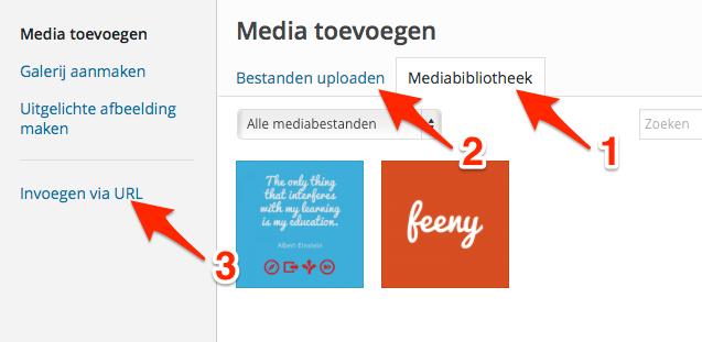Media-toevoegen-selecteer-upload