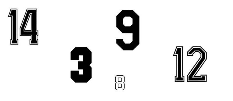 rugnummer-voetbalshirts